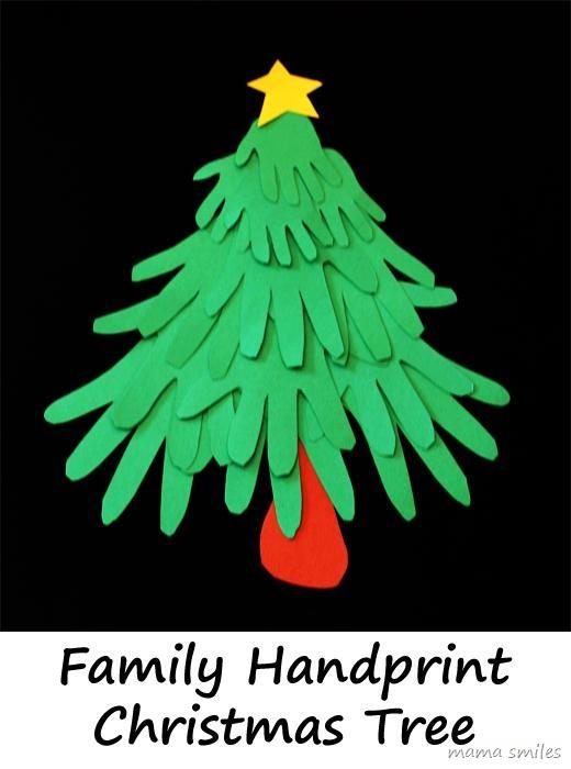 20 Fun Amp Easy Christmas Handprint Art For Kids