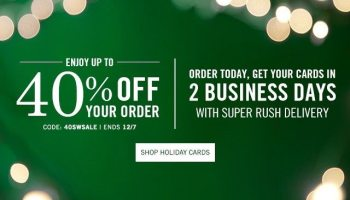 10 free personalized thank you cards from tiny prints expires 919 40 off free shipping on holiday cards at tiny prints colourmoves