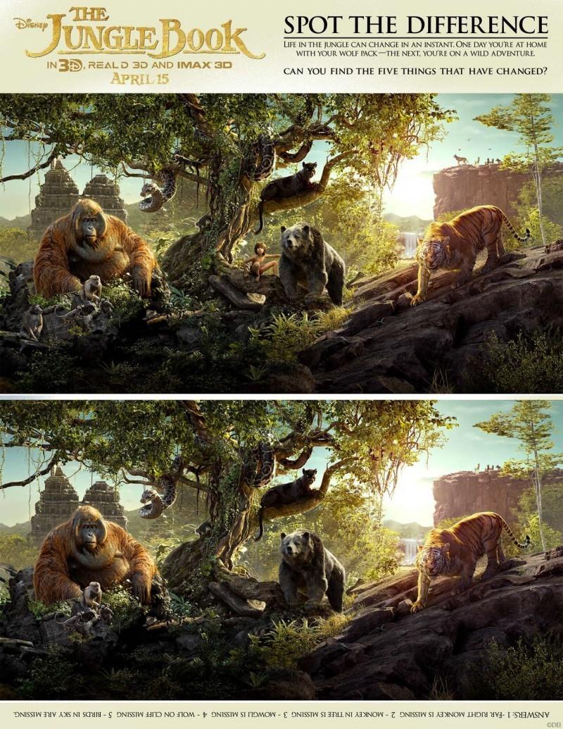 Disney The Jungle Book Activity Sheets Printables
