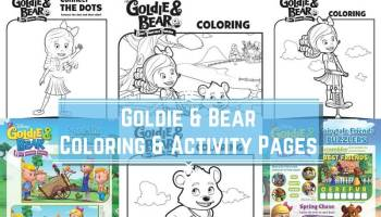 Goldie and Bear Best Fairytale Friends DVD Books Giveaway