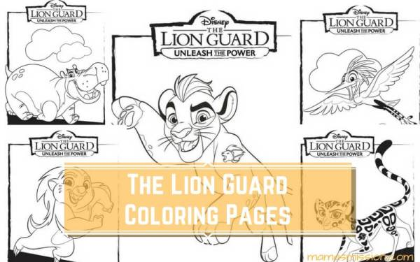 lion king coloring page # 46