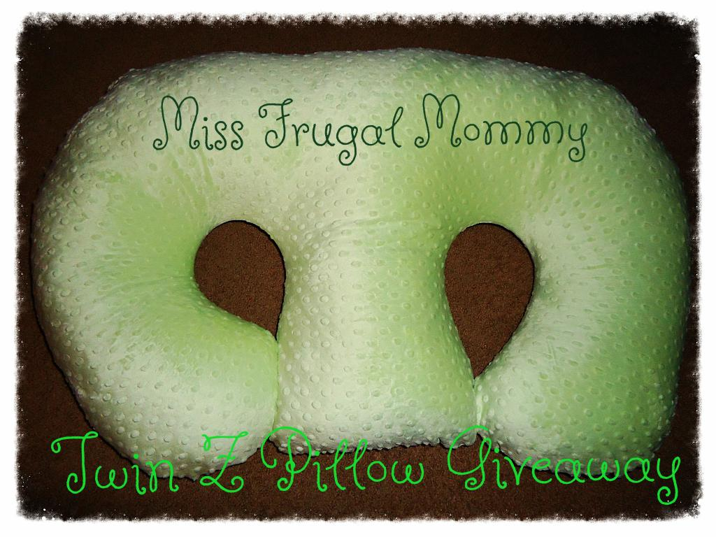 Twin Z Pillow Giveaway  Ends 421  Mamas Mission