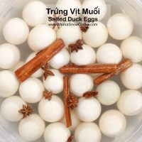 Salted Duck Eggs Recipe - Trung Vit Muoi