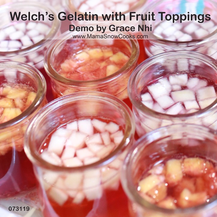 Welch's Gelatin with Fruit Toppings MSC