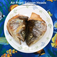 Air Fried Salmon Heads
