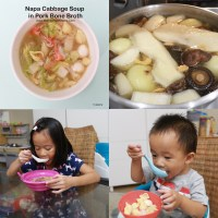 Pork Bone Broth Recipe & Napa Cabbage Soup