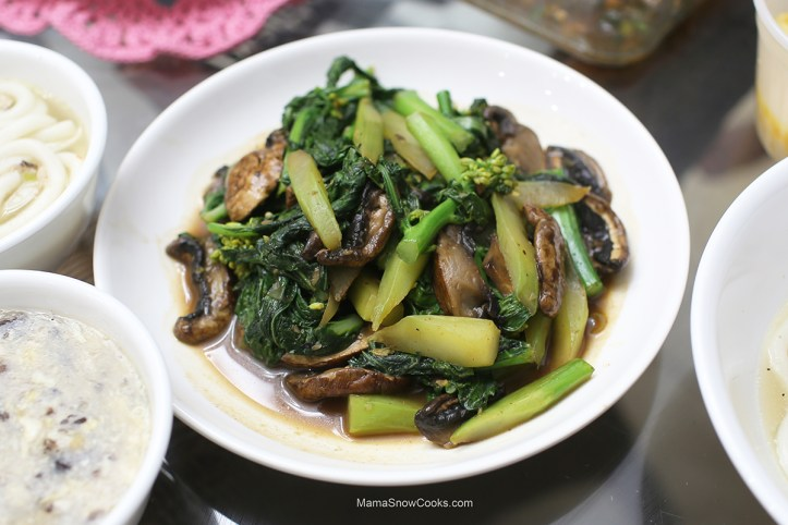 Stir Fry Chinese Broccoli with Garlic Spicy #2 032020 (20)
