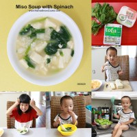 Miso Soup with Spinach Recipe