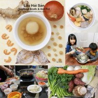 Seafood Broth & Hot Pot Recipe - Lẩu Hải Sản