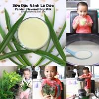 Pandan Flavored Soy Milk - Sữa đậu nành lá dứa