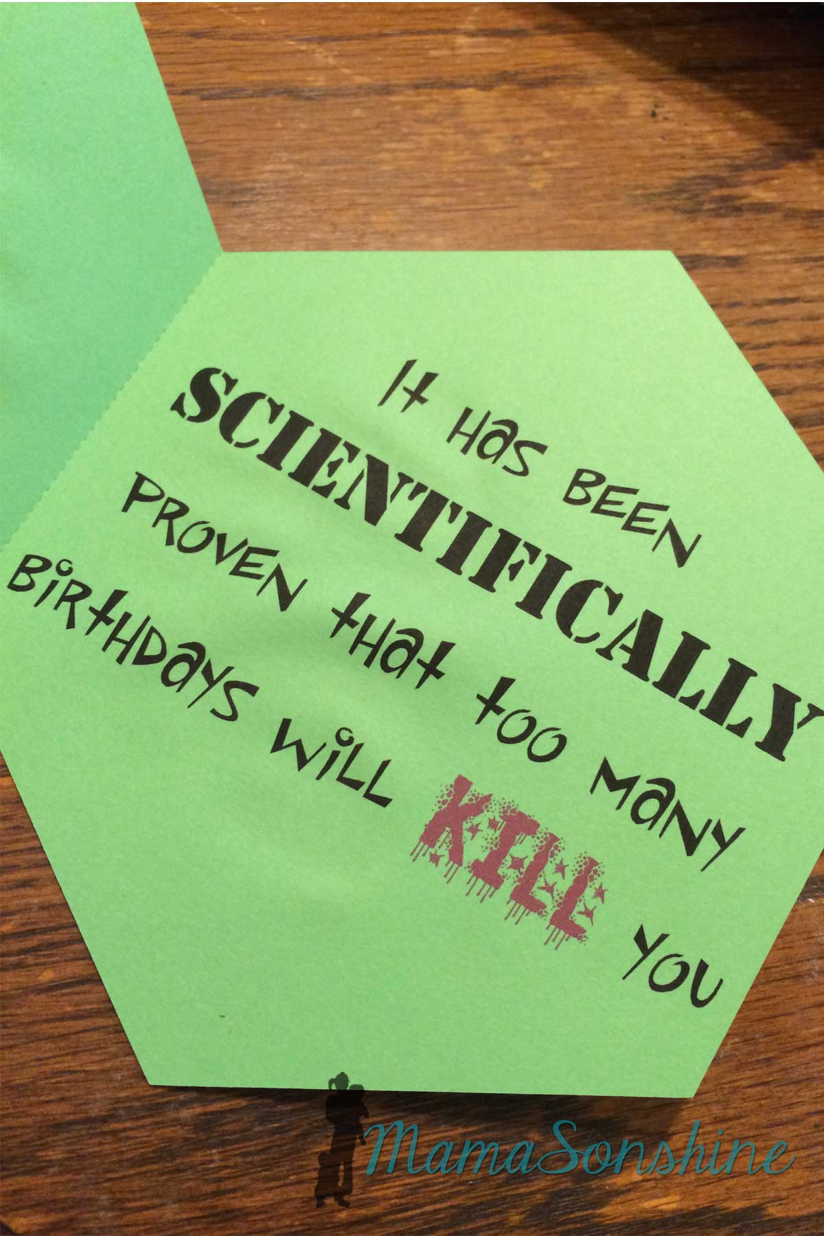 Science Birthday Card I Tri And Craft