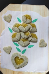 Spice Shortbread with Lemon Cream