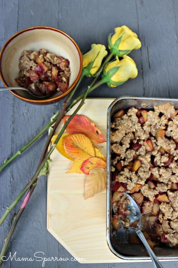 Maple Plum Crisp