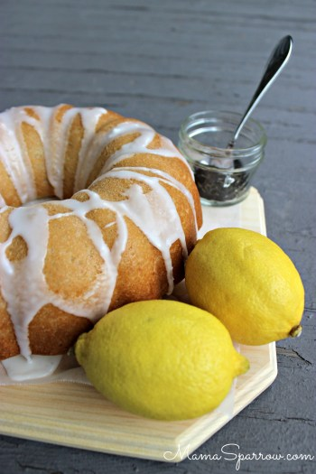 Vegan Lemon Earl Grey Cake