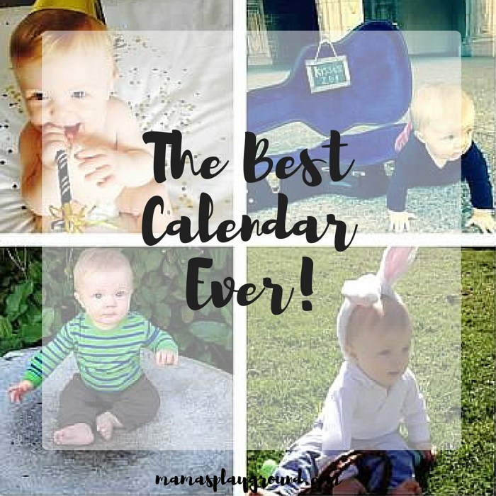 A photo calendar with monthly photo shoots will make the best DIY gift for Christmas. And it was so much fun to make!
