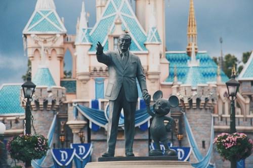 Walt Disney at Disneyland