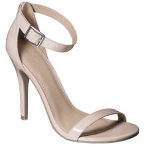 Xhilaration® Susy Strappy Heels - target - 29.99 dólares