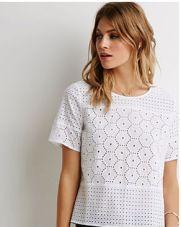 Eyelet Crochet top $22.90