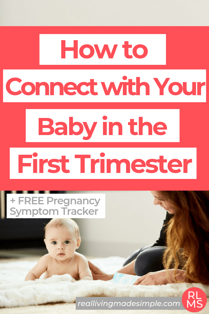 How to Connect With Your Baby in the First Trimester