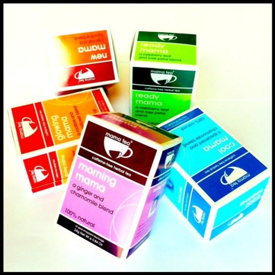 teas stacked
