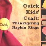 Thanksgiving Napkin Rings Craft For Kids Mama Teaches