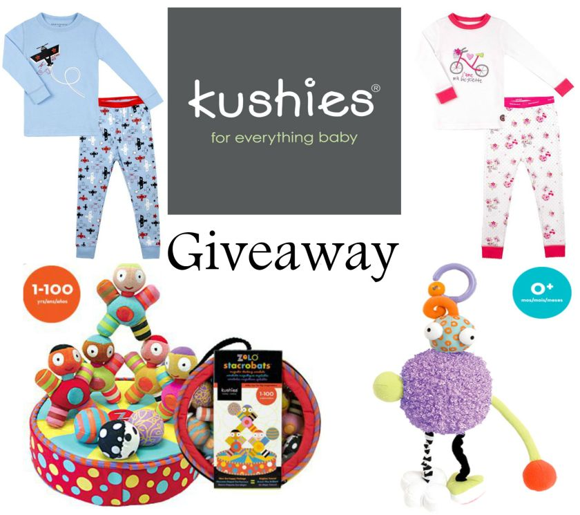 Giveaway toys and pjs