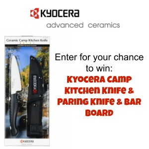 Kyocera Knife Set Giveaway
