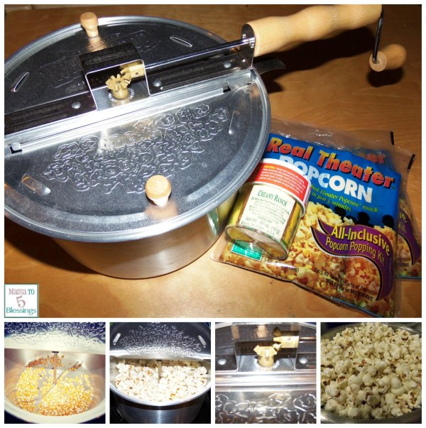 Whirley Pop Popcorn Popper & Giveaway - Mama 6 Blessings