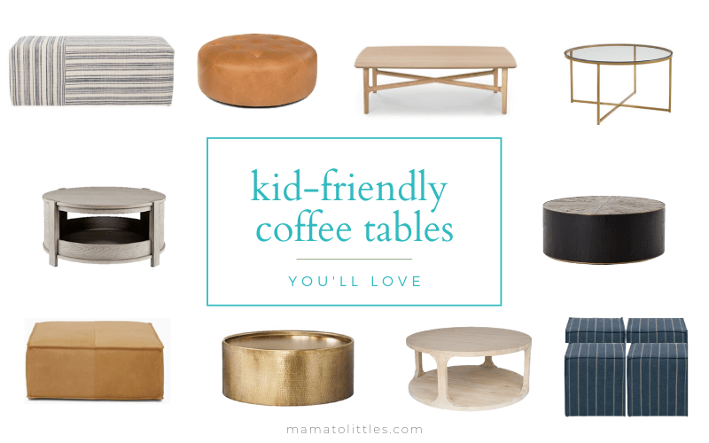 baby friendly coffee tables