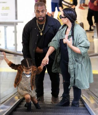 Kim-Kardashian-and-Kanye-West-with-daughter-North_2
