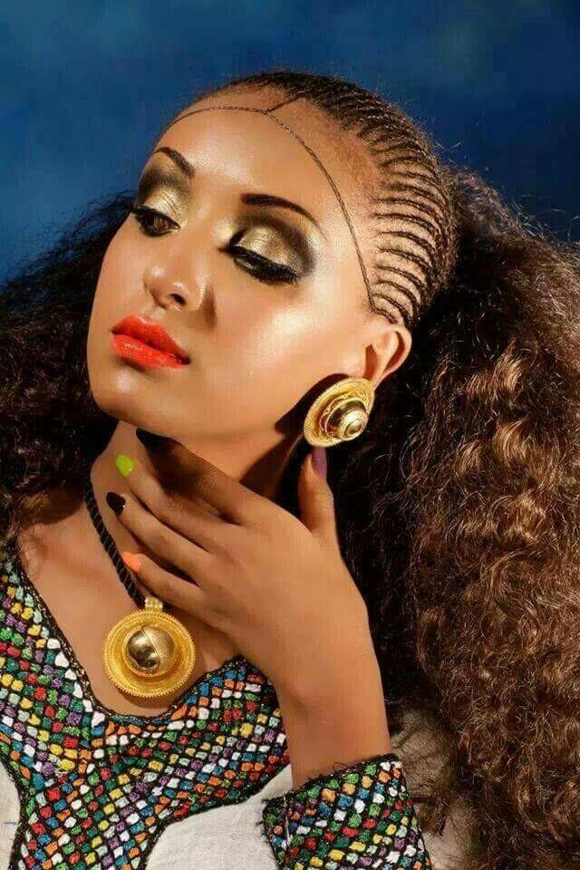 beauty of ethiopian braids