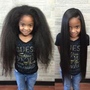 african hair grow long
