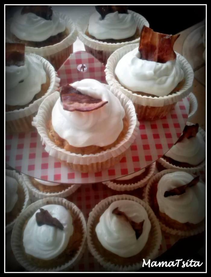 αλμυρά cupcakes