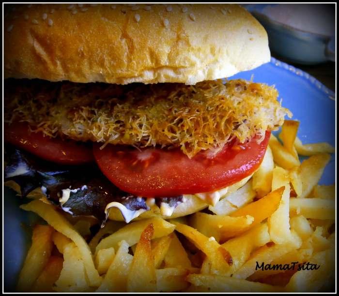 burger ψαριού