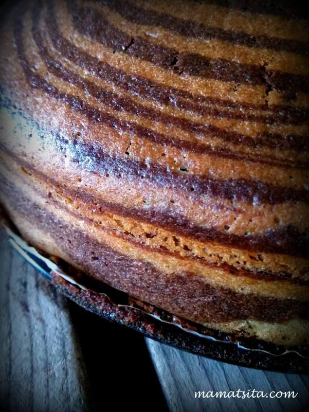 κέικ ζέβρα