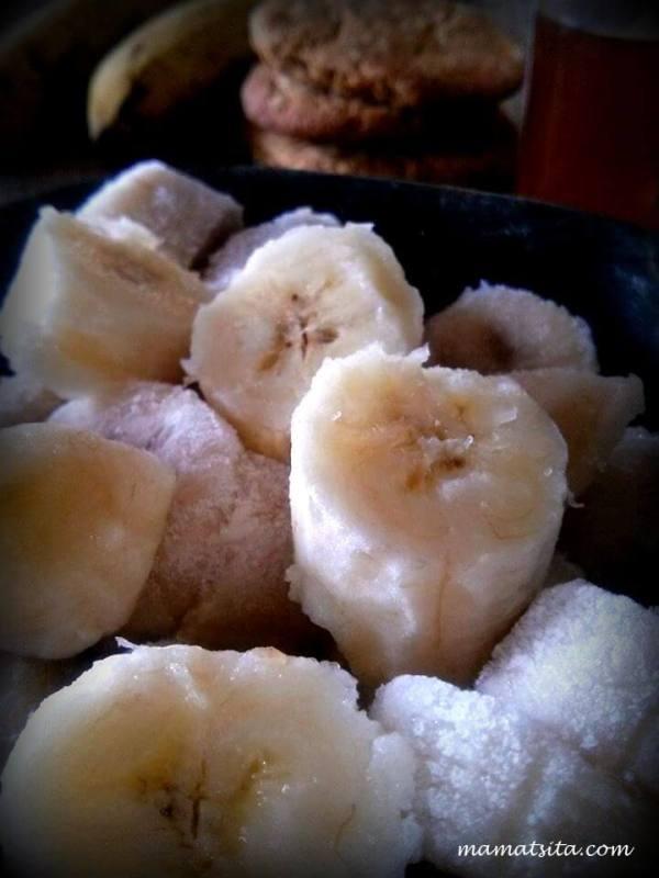 σπιτικό παγωτό μπανάνα