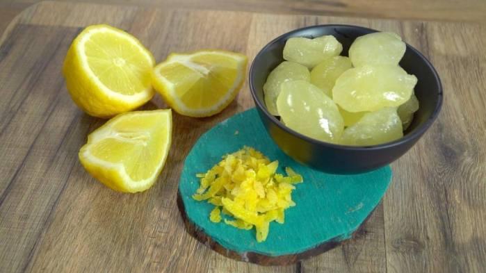 παγακια λεμονι