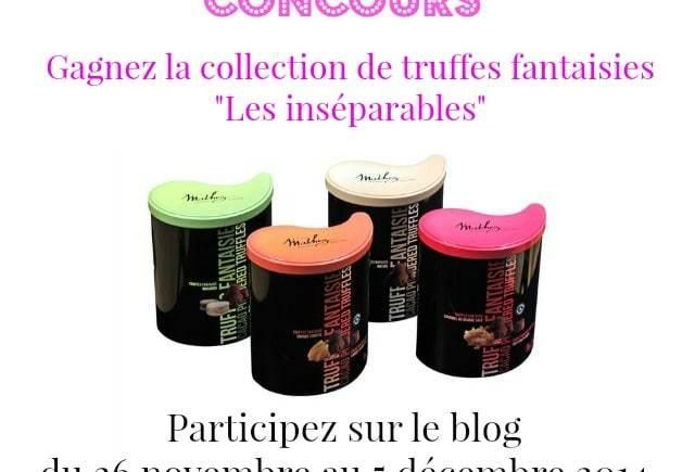 Gagnez la dernière collection de truffes fantaisies Mathez