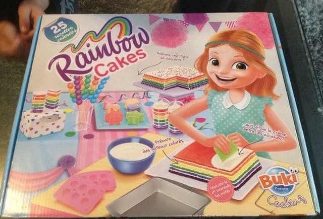 Le coffret Rainbow Cakes de Buki France, une idée pour Noël