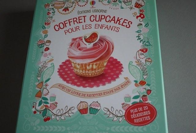 Le coffret cupcakes pour les enfants aux Editions Usborne