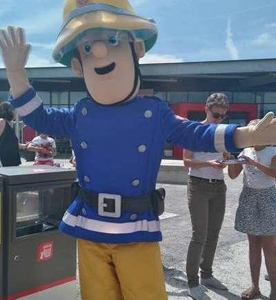 Sam le Pompier en tournée dans toute la France !