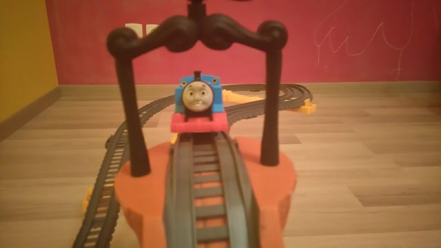 Thomas, le tourbillon de l'épave de Fisher-Price