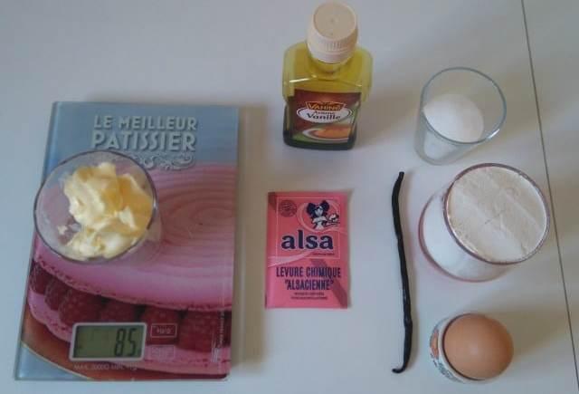 Recette de cooklés à la vanille