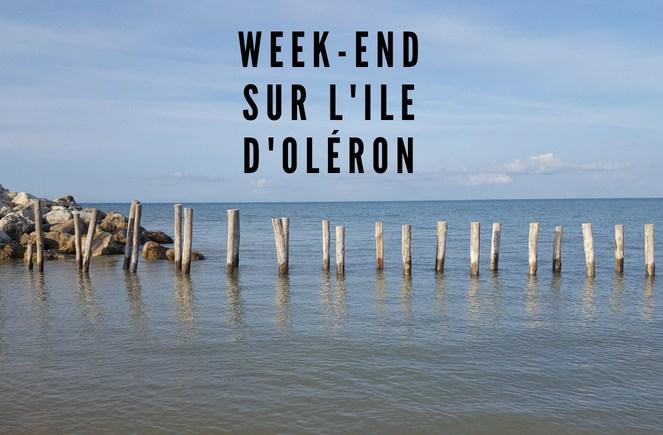 week-end sur l'Ile d'Oléron
