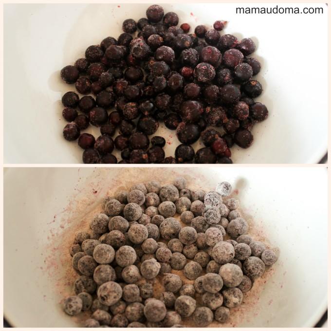 Сладкиш с боровинки-приготвяне
