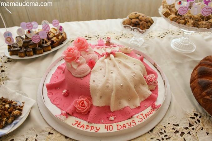 Погача за бебе - торта