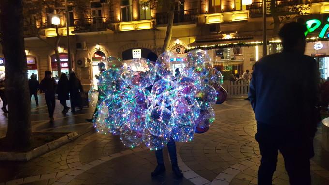 Новогодишен пазар Баку