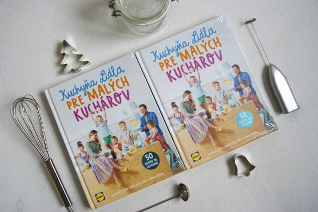 kniha pre malých kuchárov