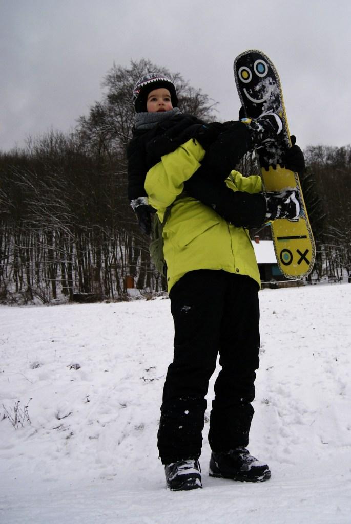 ako naucit dieta snowboardovat