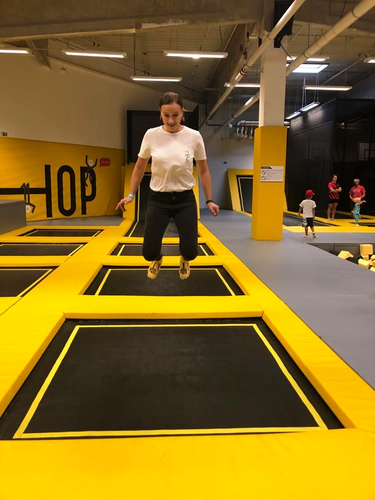 trampoliny liberec